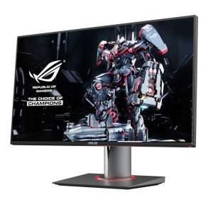 Monitors like the Asus ROG Swift have little to no input lag, 144Hz refresh rates, and are G-Sync Compatible.