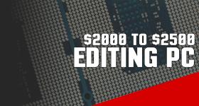 Build a Good Video Streaming / Photo Editing Computer 2016