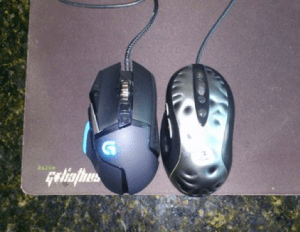 G502 Size vs MX518
