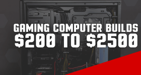 Top 10 Gaming Computer Builds 2016
