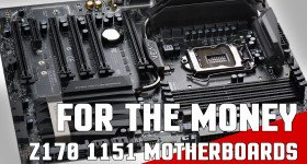 Best 1151 Z170 Skylake Gaming Motherboards for the Money 2016