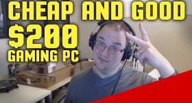 Is a Good Under $200 Gaming PC Build Possible in 2016?