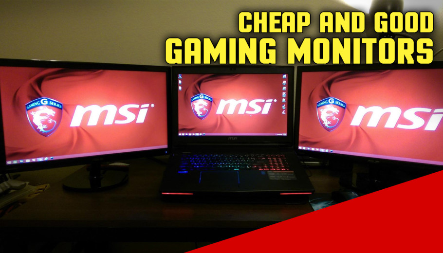 Best Budget Gaming Monitors for FPS