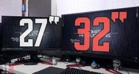 Acer XB321HK 32″ 4k IPS G-Sync Monitor Review VS XB271HK