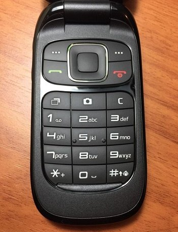 ZTE Z222 Senior Kid Flip Phone