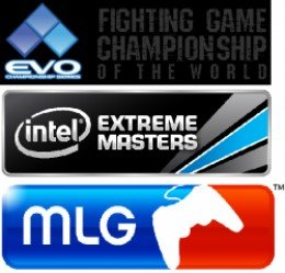 Image Attribution: Major League Gaming, Intel Extreme Masters, and EVO Championship Series.