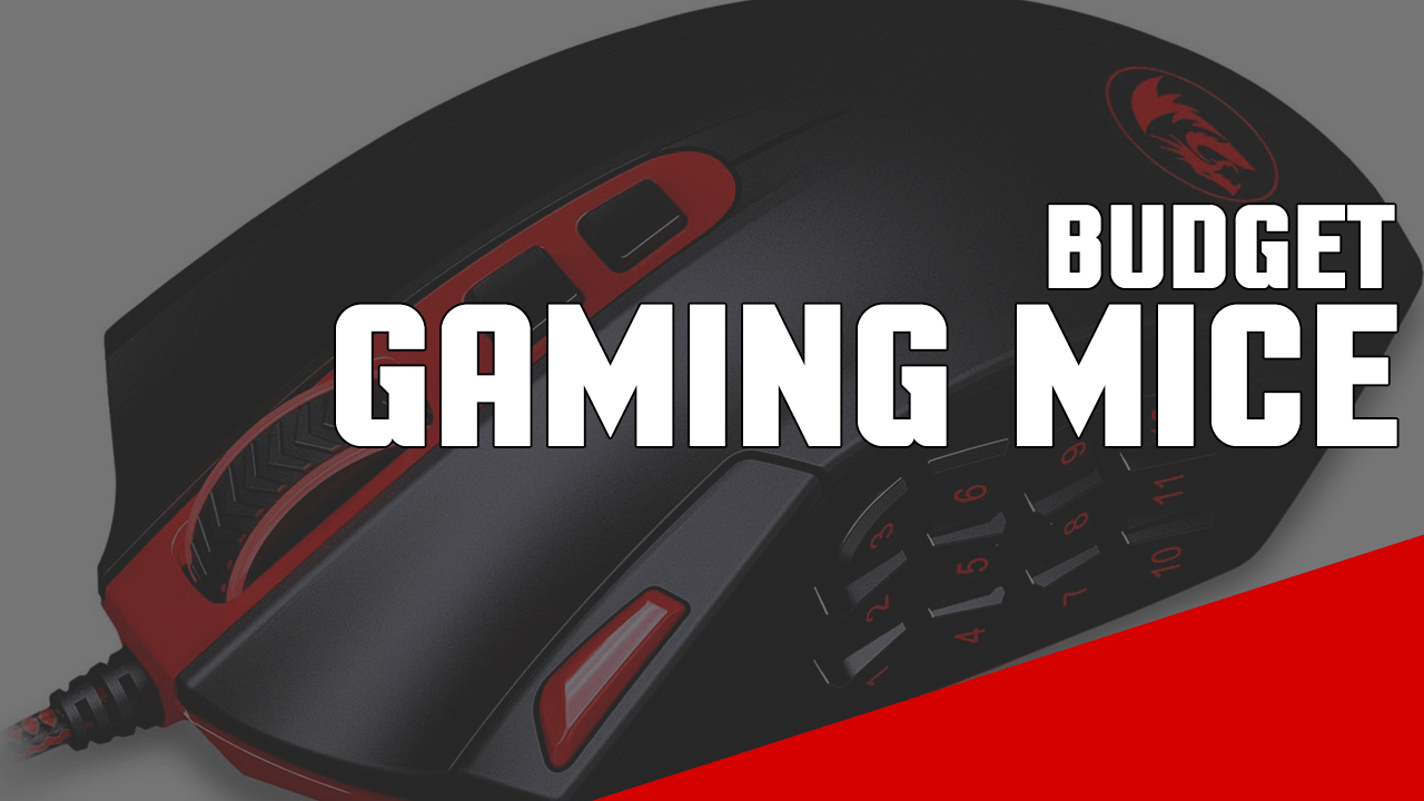5 Good and Cheap Gaming Mice for the Money 2017