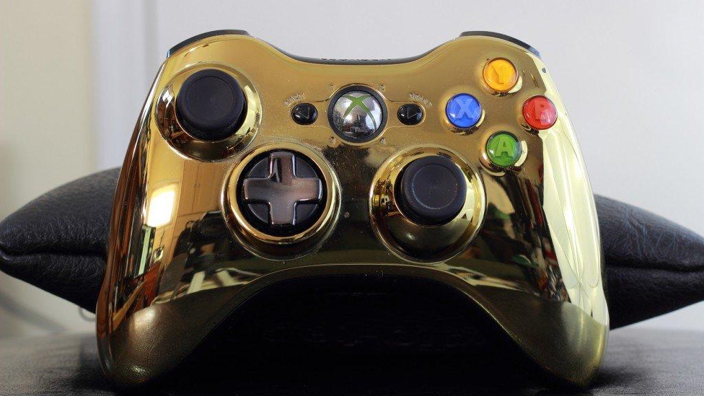 Golden Xbox 360 Controller