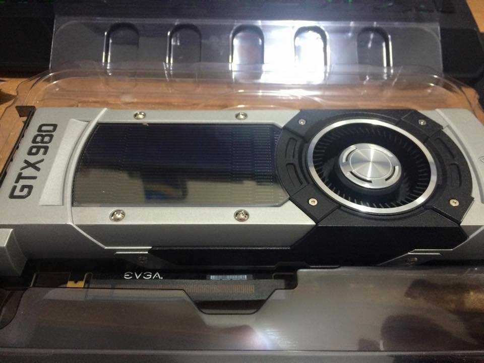 EVGA GTX 980 Reference Graphics Card