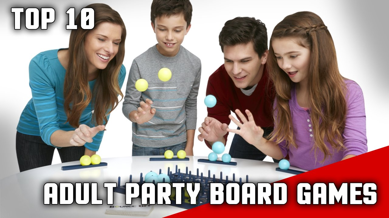 10 good and funny adult party board games for Table games for adults