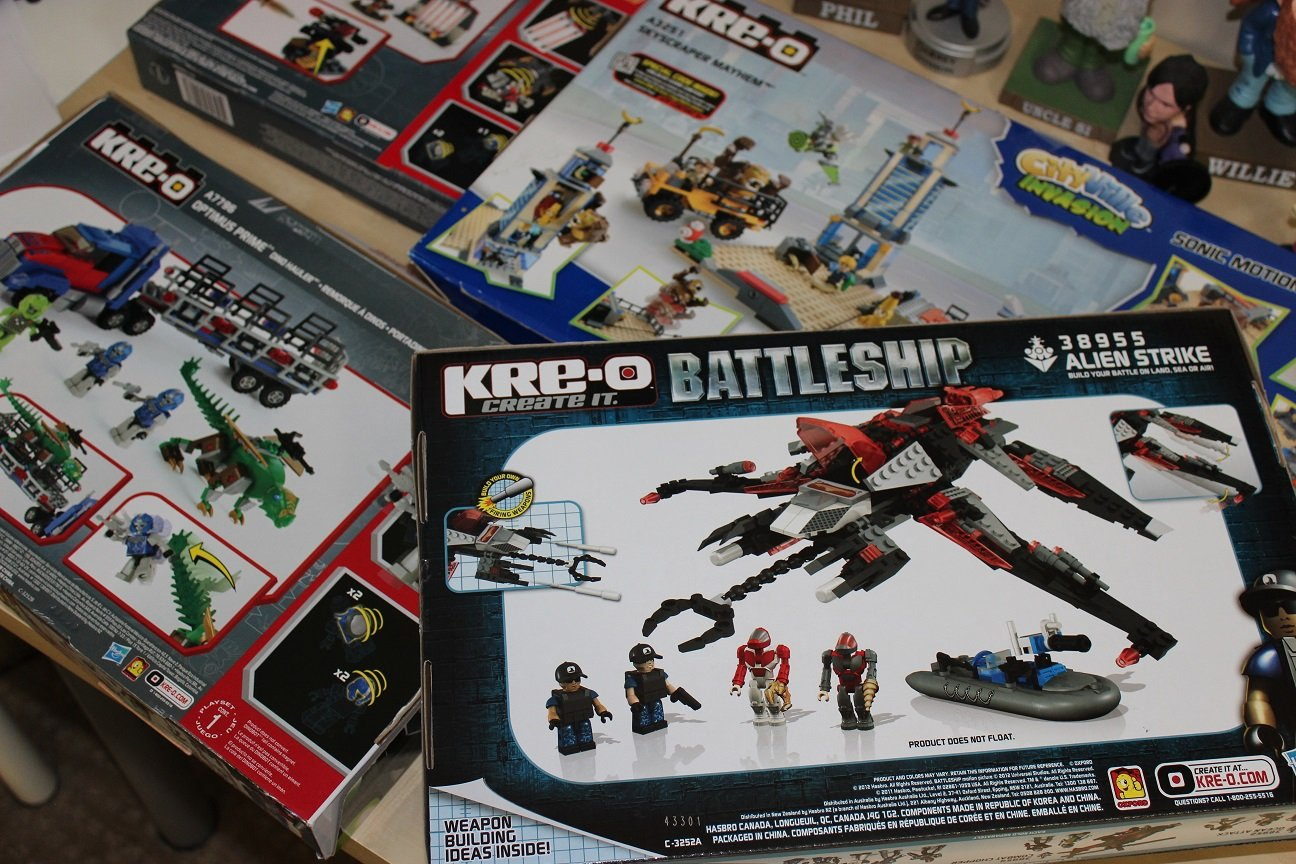 Kre-O Construction Kits
