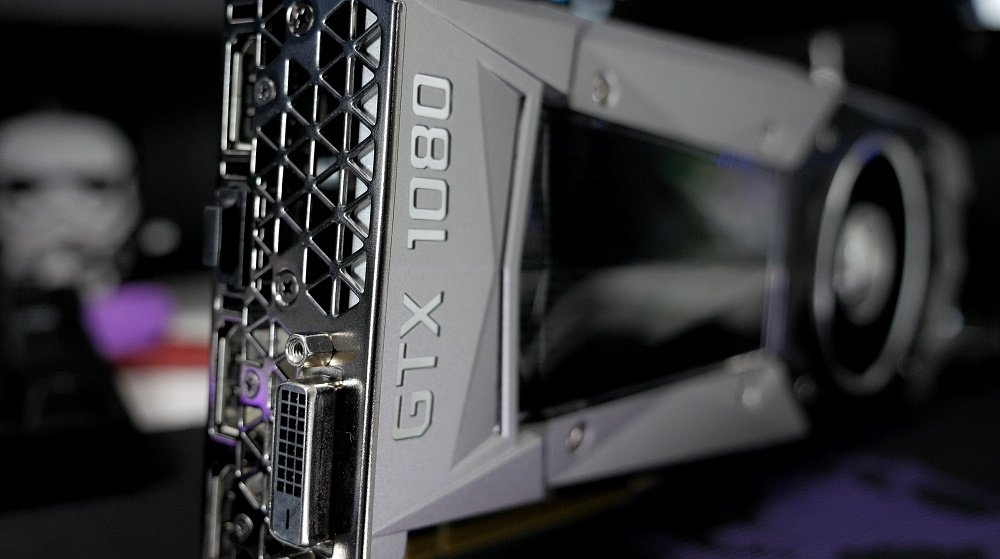 GTX 1080 GPU Reference Card