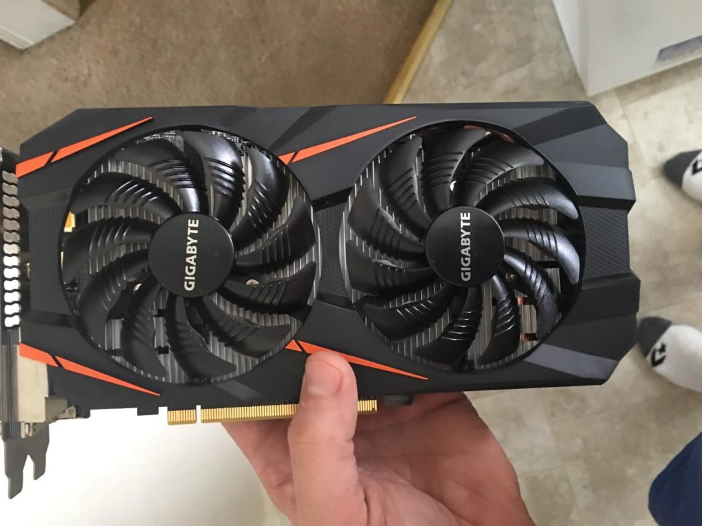 Gigabyte GTX 1060 Graphics Card