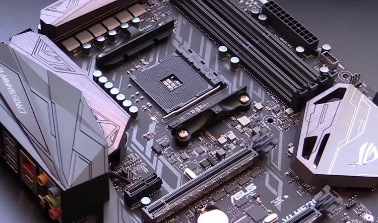 Asus ROG Crosshair VI Hero AMD X370 Chipset Motherboard