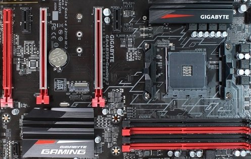 Gigabyte AB340 Gaming 3 Ryzen Motherboard Editing