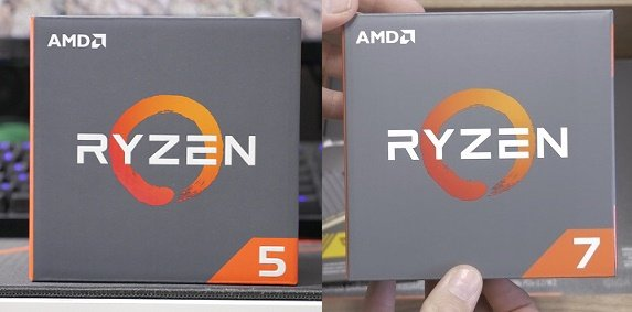 AMD Ryzen 5 vs 7 PC Builds