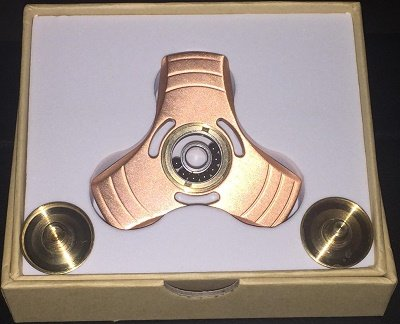 Fidget Spinner Heres Another Compact Design That Looks And Feels Fantastic In Your Hand Its Smooth Has A Ceramic R188 Bearing Spins Around 5
