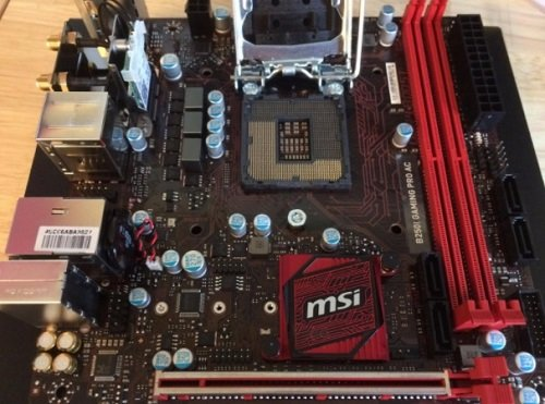 MSI Gaming Intel B250I SFF ITX Motherboard