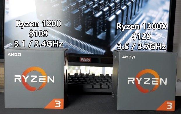 Ryzen 1200 vs 1300X GPU