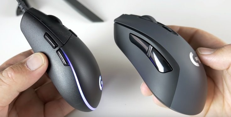 Logitech G603 vs G-Pro Gaming Mouse - Top Ten Gamer