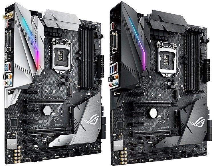 Asus ROG Strix Z370-E vs Z370-F Gaming Motherboard