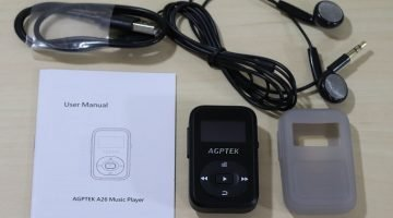AGPTek 8GB A26 MP3 Player Review