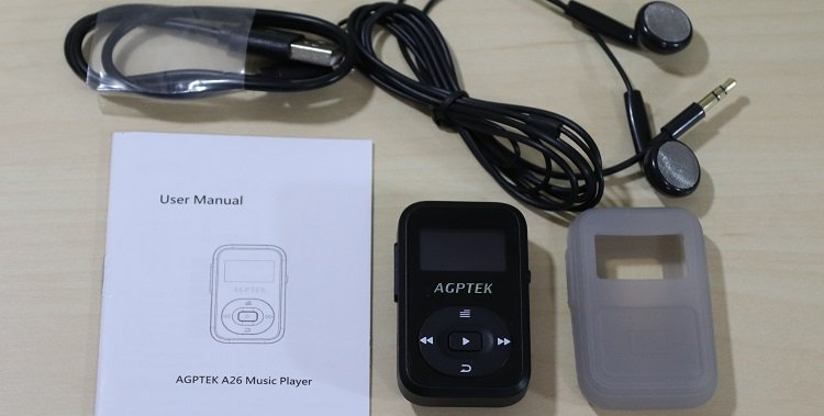 AGPTek 8GB A26 MP3 Player Review